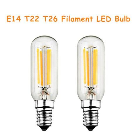 E14 t22 t26 накаливания светодиодные Лампочки декоративные Винтаж 2 Вт 4 Вт AC 200-240 В 200lm 400lm 2 шт. люстра светодиодные лампы накаливания