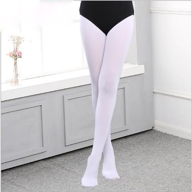 11.11 Velvet Professional Ballet Tap Dance Tights for Children Girl Stretch Footed Gymnastics Pantyhose Stockings
