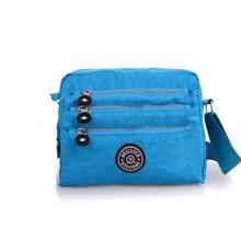 JINQIAOER Wasserdichte Nylon Frauen Messenger Bags Hohe Qualität Handtasche Lässig Kupplung Carteira Reise Umhängetaschen Kiple Stil