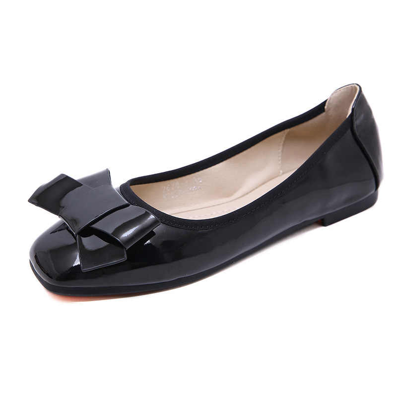 SIKETU dames chaussures plates femmes mocassins sans lacet plate-forme chaussures femme mode solide bout carré mocasin mujer grande taille
