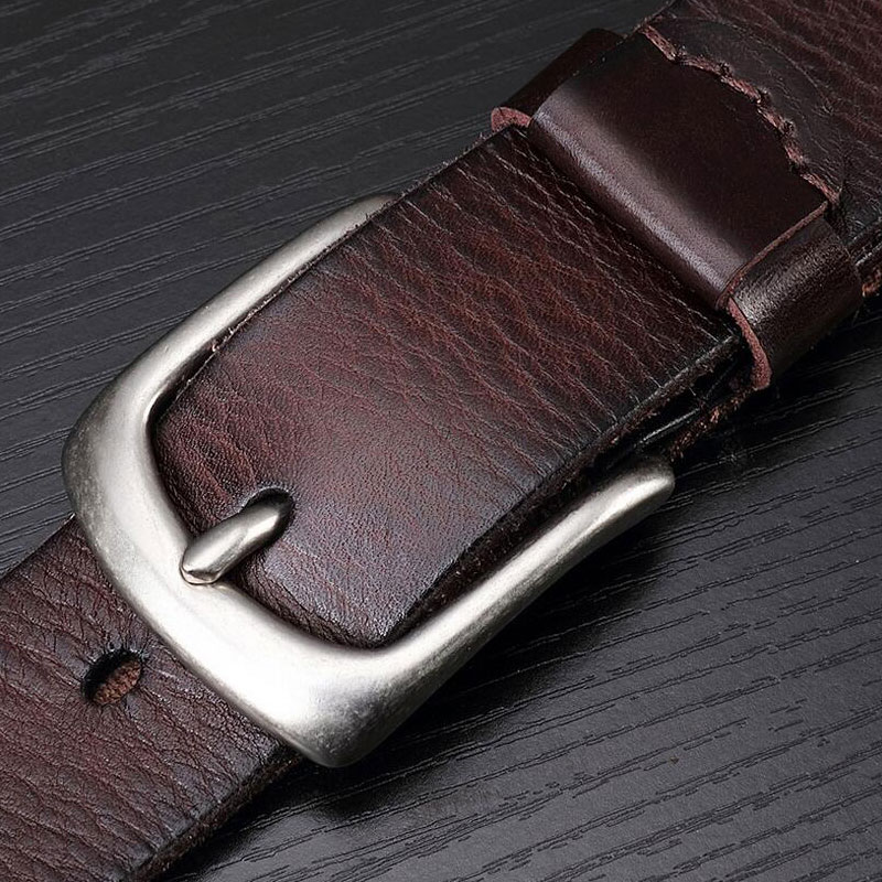 IFENDEI Men 's Belts Soft Genuine Leather Casual Belt Wild Retro First Layer Of Leather Waist Copper Pin Buckle Belt Cowboy Jean goorin bros men s wild beaver