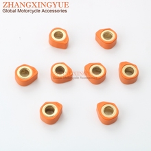 8PC Racing Quality Roller Weights 20x12mm 15.5g for KYMCO