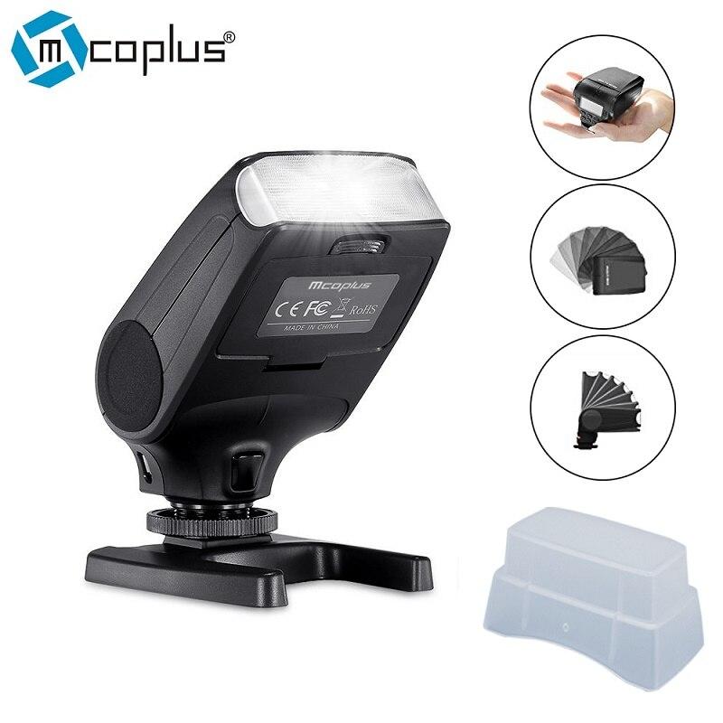 Mcoplus MCO-320 TTL Flash HSS Master mini Speedlite for Canon 5D 5DIII 6D 7D 7DII 60D 70D 500D 550D 760D DSLR Camera as MK-320