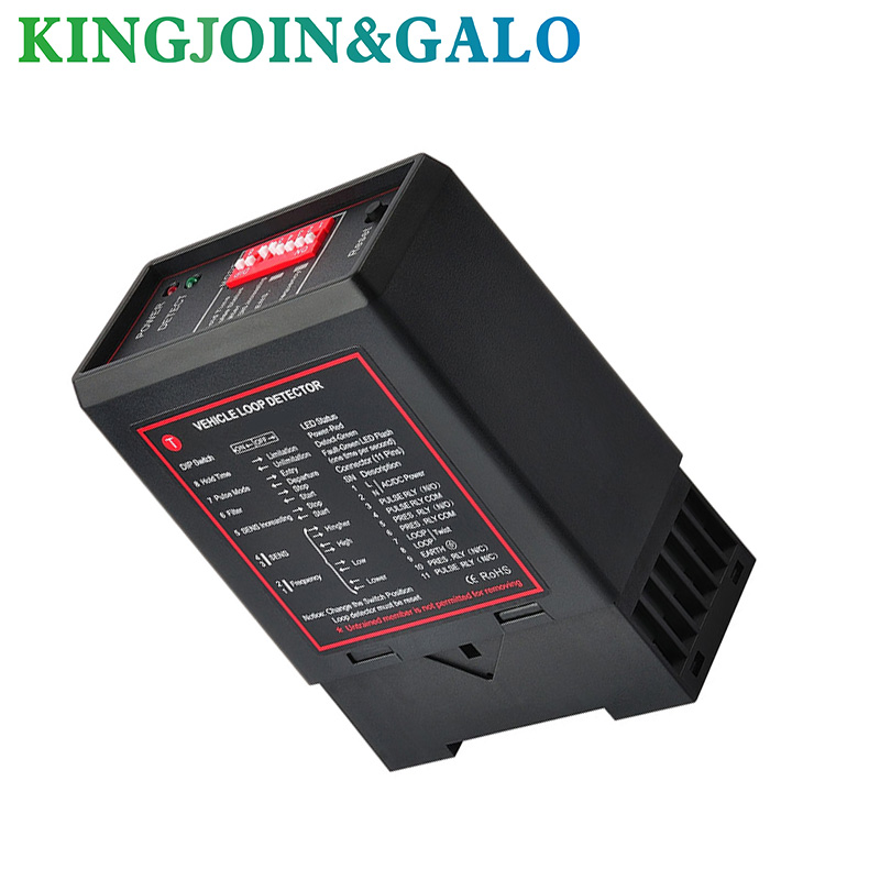 GALO 220V 110V 12V 24V Single Channel Inductive Loop Detector Vehicle For Automatic Barrier Boom Gate Opener