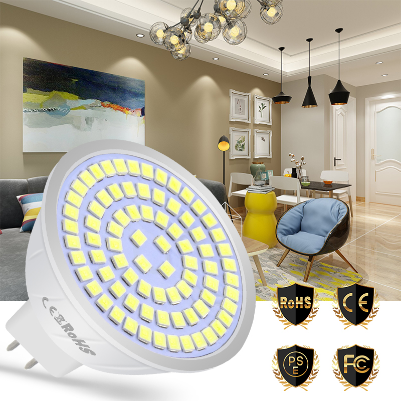 E27 Led Bulb 220V E14 LED Lamp GU10 Spotlight 4W 6W 8W MR16 Ampoule Led Corn Light 48 60 80leds B22 High Brightness 2835 GU5.3 ...