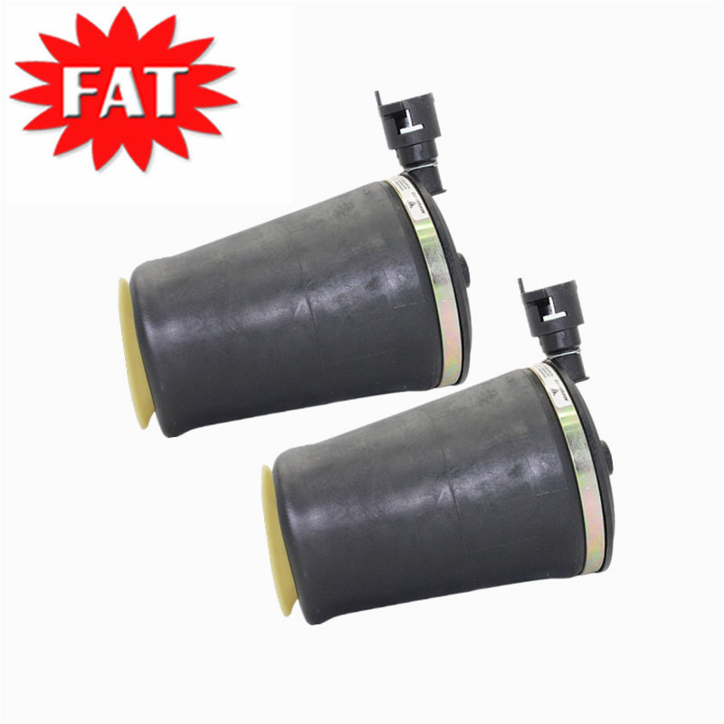Airsusfat Pair Rear Air Spring Bags For Ford Crown Victoria 1992-2011 Lincoln Town Car 1990-1997 Air Ride Suspension 3U2Z5580BA 1 pair solenoid valve for 1984 1987 fit lincoln continental for 1992 2006 ford crown victoria fit mercury grand marquis