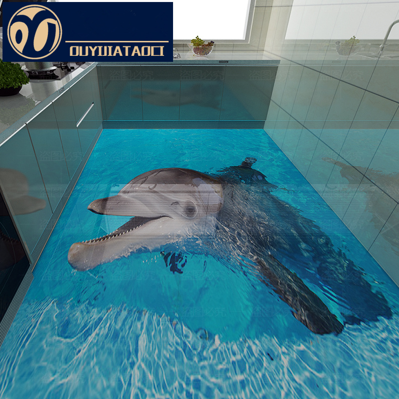 Export Products Best Quality Dolphin 3d Floor Tiles