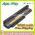 Apexway 9 células 94wh bateria para lenovo thinkpad x220 x220i x220s x230 x230i x230s 42t4901 42t4902 42y4940 42y4868 42t4873