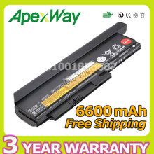 Apexway 9 клетки 94Wh Батареи для Lenovo ThinkPad X220 X220i X220s X230 X230i X230s 42T4901 42T4902 42Y4940 42Y4868 42T4873