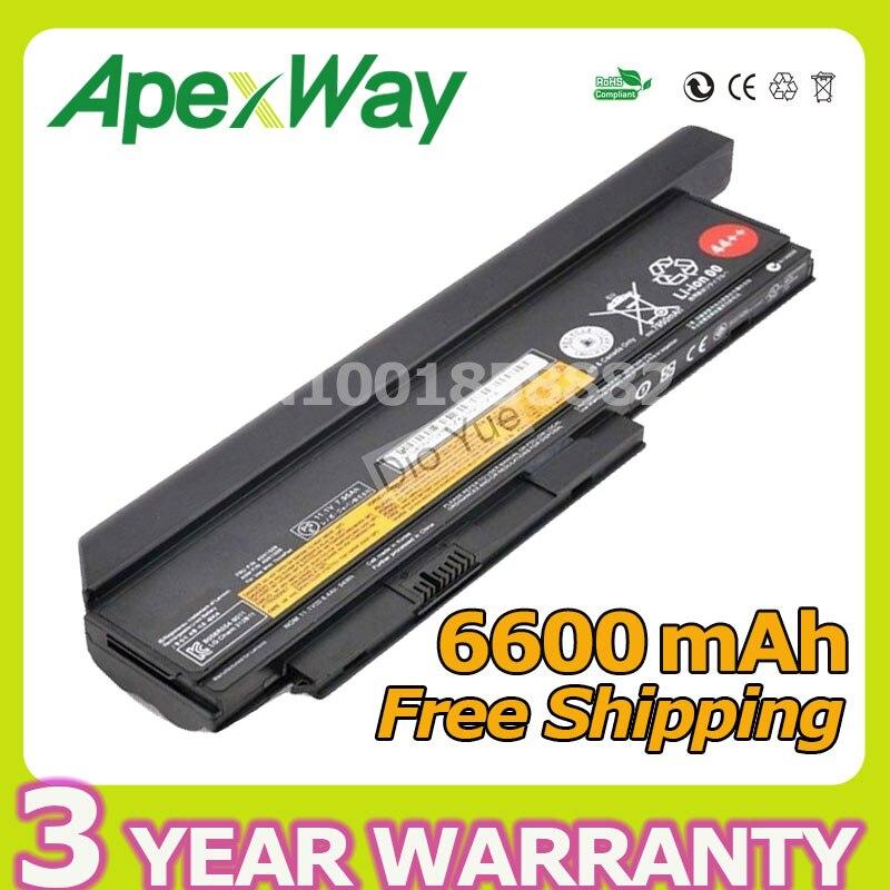 Apexway 9 cellules 94Wh Batterie pour Lenovo ThinkPad X220 X220i X220s X230 X230i X230s 42T4901 42T4902 42Y4940 42Y4868 42T4873