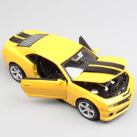 1:24 Scale Maisto Chevrolet Camaro 2010 coupe bee muscle vehicle & Sport diecast models miniatures toy cars for children Cheap