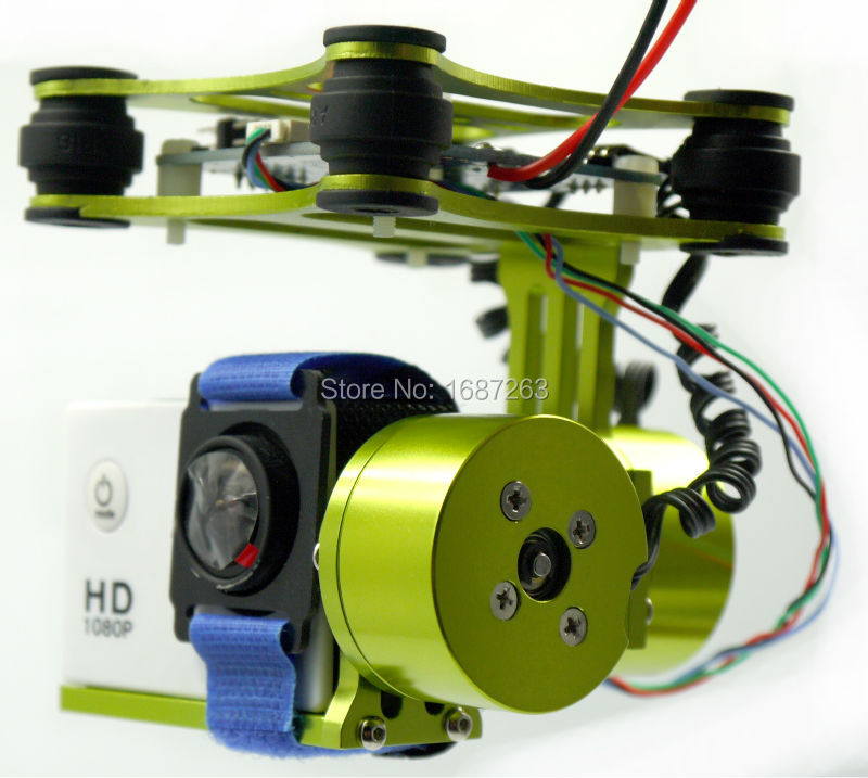 Aggressiv Rtf Cnc 2 Achsen Brushless Gimbal/motor/controller Für Phantom Wk Qr X350 Sj4000 Kamera Teile & Zubehör