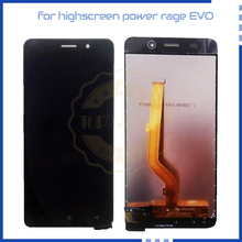 Original Quality For Highscreen Power Rage EVO LCD Display T