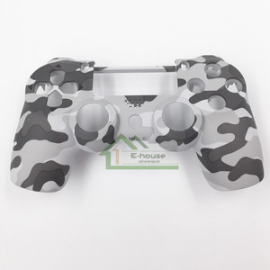 Image 5 - E house for PS4 JDM 011 Controller Customs Camo Shell Case Cover Housing Shell Replacement for Playstation 4 PS4 Controller