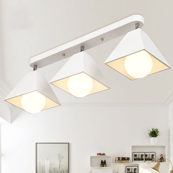 Modern brief bar entrance white iron ceiling lights fixture home deco personality creative balcony E27 LED bulb ceiling lamp free shipping modern contemporary kids bedroom balloon celing lights creative white fashion ceiling lamp e27 led bulb for home