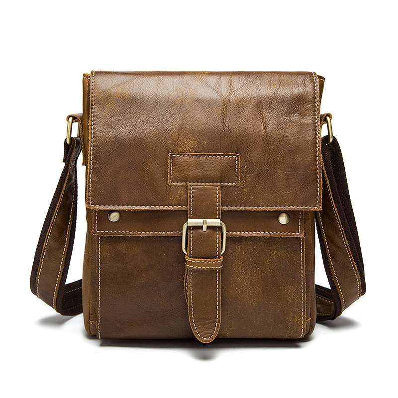 Cowhide Men Shoulder Bag Saco Homens Vintage Genuine Leather Casual Crossbody Bag Messenger Bag Male Flap BolsaCowhide Men Shoulder Bag Saco Homens Vintage Genuine Leather Casual Crossbody Bag Messenger Bag Male Flap Bolsa
