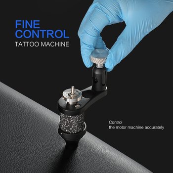 Besta 2018 new design tattoo machine rotary tattoo gun Adjustable Stroke Direct Drive Liner And Shader Motor Supplies