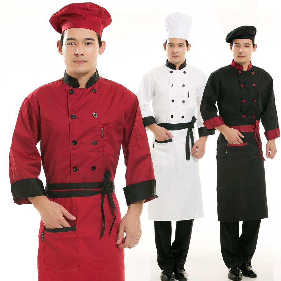 Restaurant Kitchen Uniforms online shop chef clothing long-sleeved autumn/winter restaurant