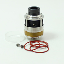 SXK PyroGeyser Style RDTA Rebuildable Dripping Tank Atomizer 22mm Diameter Single/Dual Coil used for Cotton or Nickel Mesh RDTA стоимость