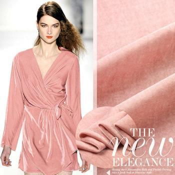 Tessuto Per Tende All'ingrosso | Il Trasporto Libero Di Alta Qualità 100% Tende Di Velluto E Tessuto Del Vestito Di Seta Rosa Tessuto Tessuto Per Cucire Materiale All'ingrosso/Al Minuto