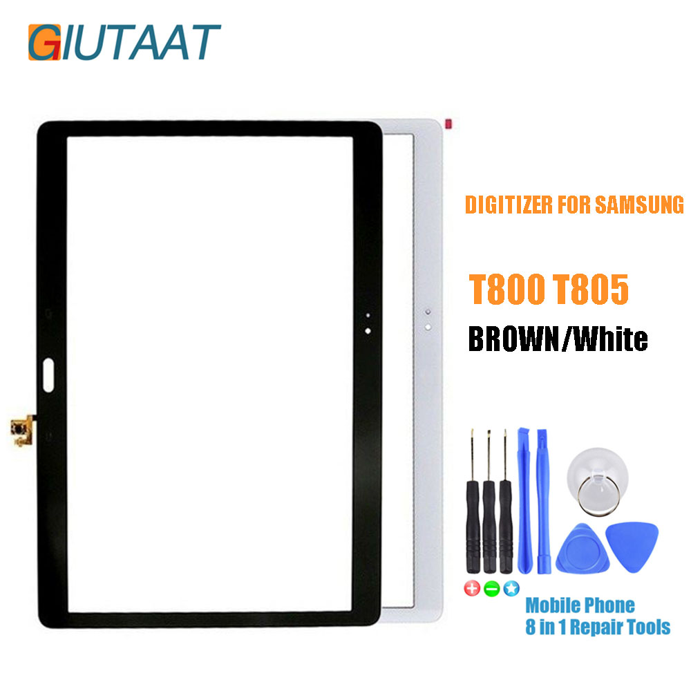 10.5 Inch Touch Screen Digitizer Replacement Parts for Samsung Galaxy Tab S T800 T805 SM T800 SM T805|Mobile Phone Touch Panel| |  - title=