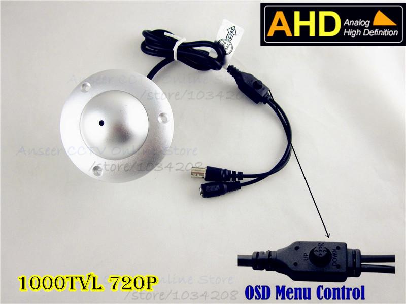 AHD Mini Flying Surveillance Camera Metal Casing 720P 1000TVL AHD Elevator Dome Pinhole Camera UFO Dome Camera CCTV Camera AHD 10pcs for lexmark t650 t652 t654 t656 chip 25k t650h11e t650h21e eu ww version