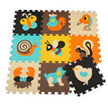 eva puzzle mat without fence baby play carpet cartoon eva foam play mat,pad floor for kids games rugs SGS