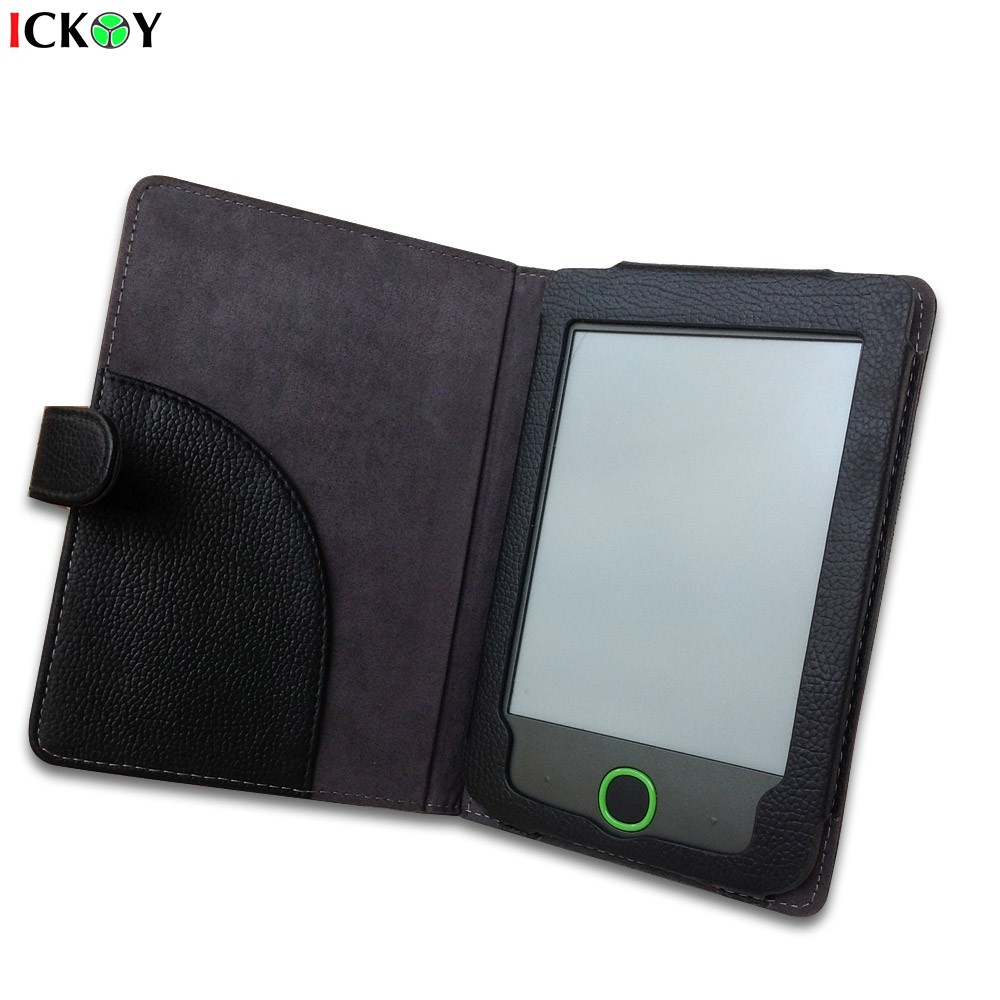 Leather PU Protective Protect Case Cover Skin For PocketBook 614 Basic 2 Pocketbook614 6'' Inch E-Reader Tablet Accessories