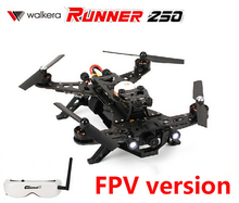 (In stock) Original Walkera Runner 250 FPV Version with Goggle 2 glasses And DEVO 7 transmitter RC Quadcopter Drone RTF
