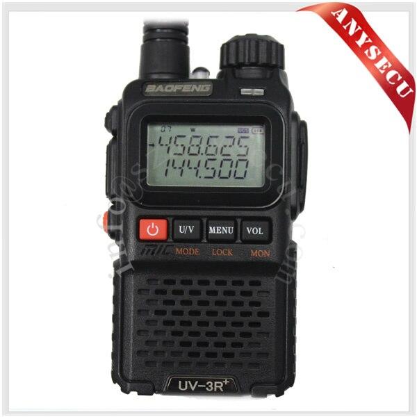 2015 nouveau noir BaoFeng UV-3R + UV-3R-Plus Talkie136-174 Walkie/400-470 Mhz Radio bidirectionnelle2015 nouveau noir BaoFeng UV-3R + UV-3R-Plus Talkie136-174 Walkie/400-470 Mhz Radio bidirectionnelle