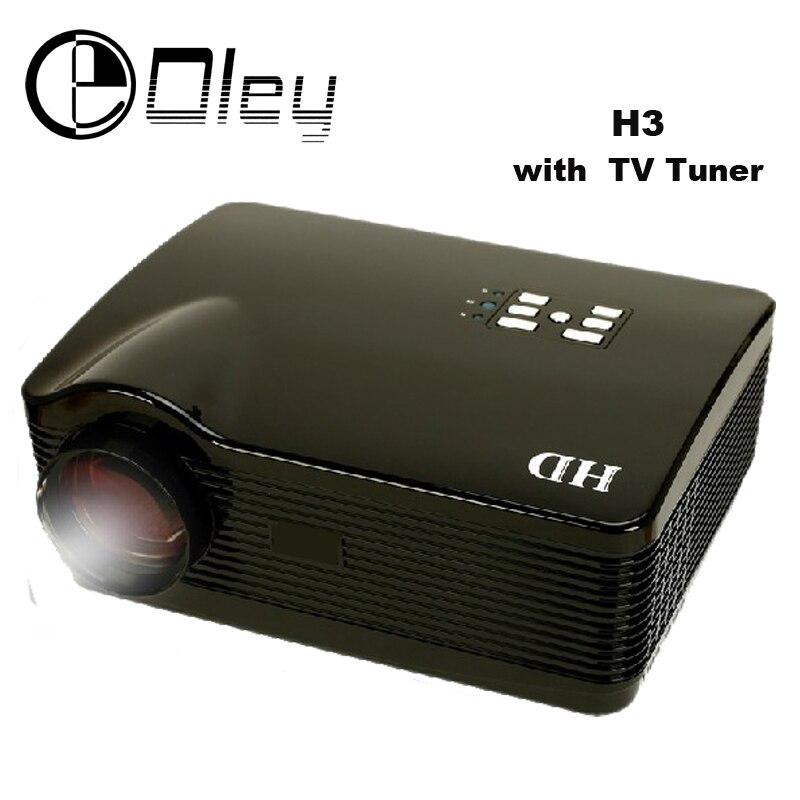 OLEY Full HD 5500 Lúmenes Proyector de Cine En Casa LCD LED Multimedia Proyector