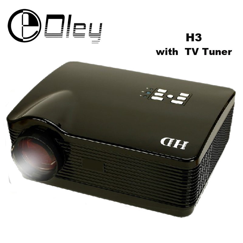 1080p Full Hd Led Lcd Multimedia Vga Hdmi Tv Home Theater: OLEY Full HD 5500Lumens Home Theater Projector Multimedia
