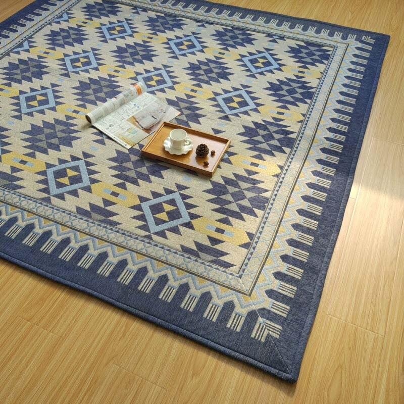 Стиль ковер гостиной журнальный столик диван ковры спальня прикроватный коврик