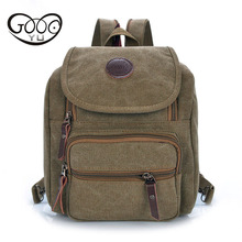 Japan and South Korea trend of multi-functional students canvas small backpack fashion personality multi-color womens chest bag
