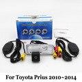 Cámara de Reserva del coche Para Toyota Prius 2010 ~ 2014/RCA Con Cable O Inalámbrica/HD Lente Gran Angular/Visión Nocturna del CCD Cámara de Visión Trasera