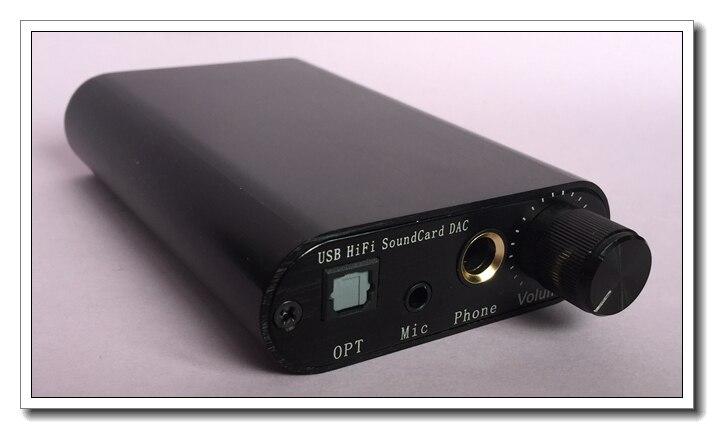 Mini USB HiFi Scheda Audio DAC TDA1387 di Decodifica Audio Amplificatore Per Cuffie DTS/AC3