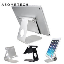 "4 12"" Desktop Tablet support for iPad Mini 1 air 1 Pro Aluminum holder stand for iphone x/8 xiaomi samsung Galaxy Phone Trestle"