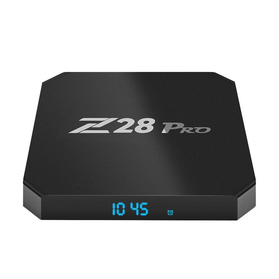 Z28 PRO Smart TV Box RK3328 4GB RAM 32GB ROM 4K HD Media Player 5G WIFI 100M LAN USB 3.0 Set top box