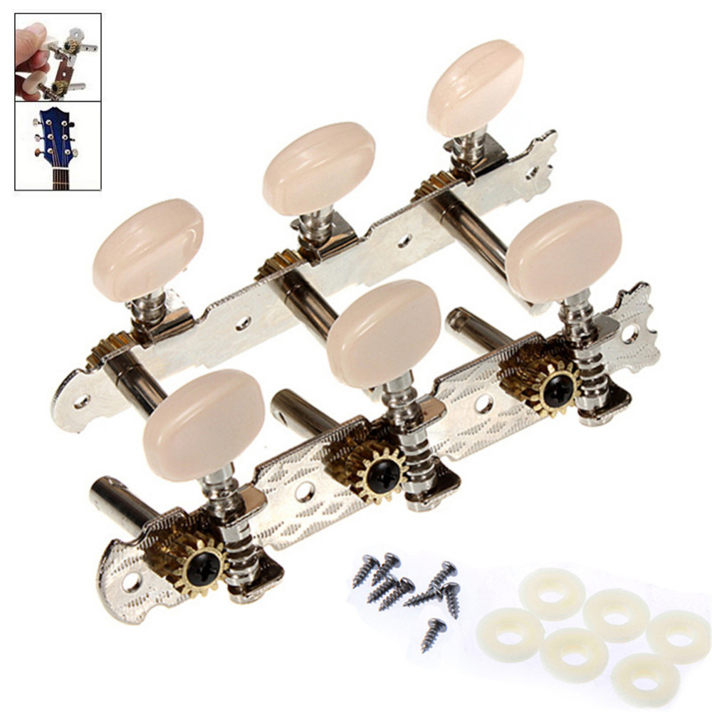 buy 1 pair of high quality guitar part tuning peg classical guitar tuner tuning. Black Bedroom Furniture Sets. Home Design Ideas