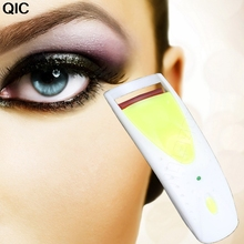 1pc Long Lasting Heated Eyelash Eye Lashes Curler Eyelash Curler Electric Makeup Eye Lashes Maquiagem Tool 1pc