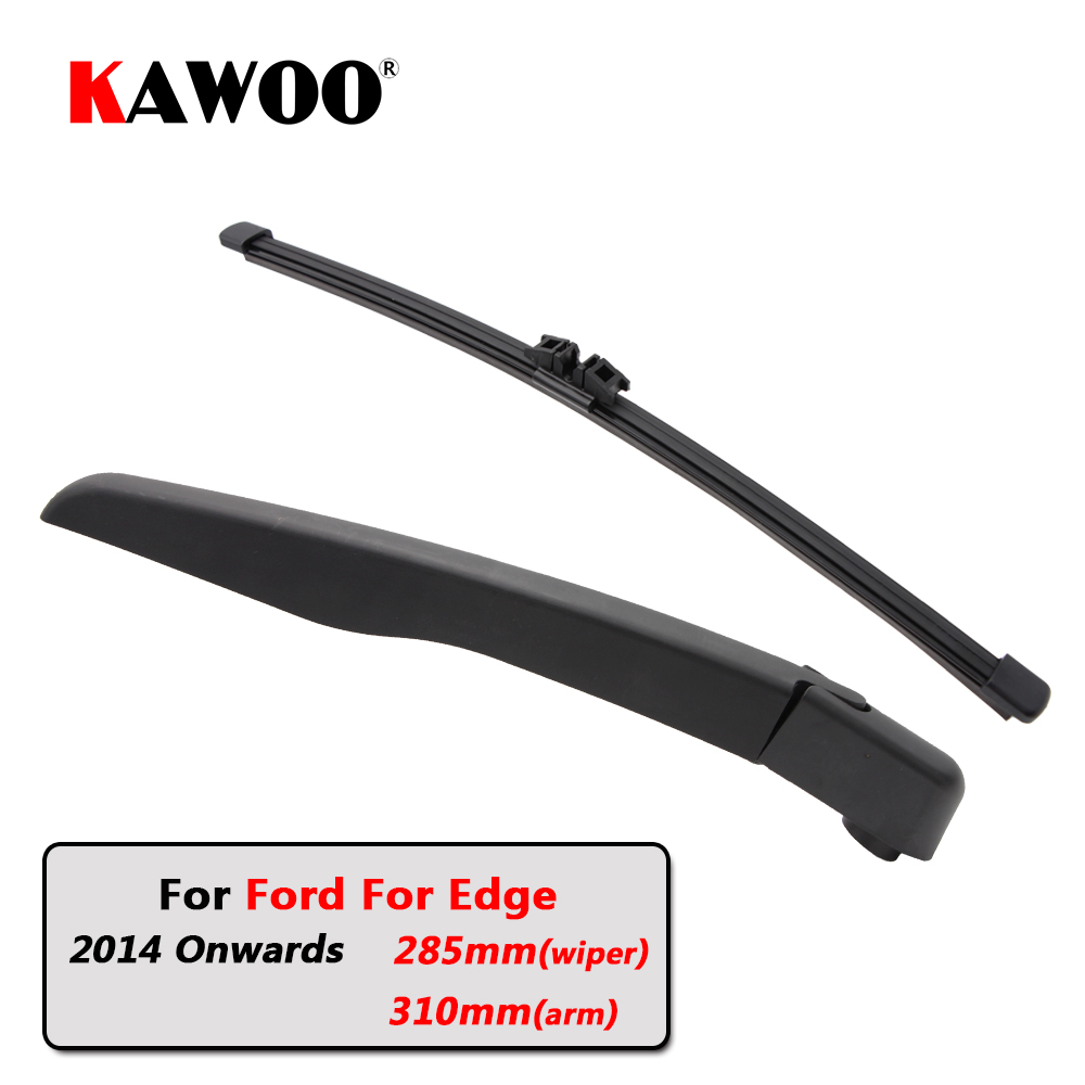Kawoo Car Rear Wiper Blades Back Window Wipers Arm For Ford For Edge Hatchback