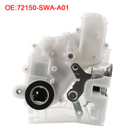 1PC White Front Left Car Lock Button Locking Piece For Honda CRV 72150SWAA01 Door Lock Actuator