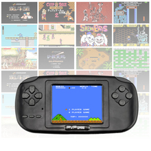 Original newest childhood Classic Game Video Game Players With 168 Games 2.5 Inch 8-Bit PVP Portable Handheld Game Console
