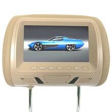 7 Inch Camera Headrest Monitor Player Car Seat Back Video Multi Media Digital Un