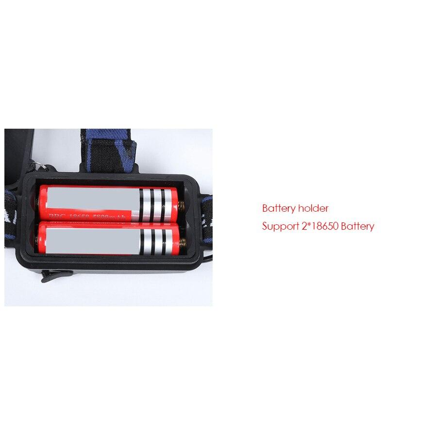 Reflektor czołowy Led Portable Reflektor XML T6 LED Reflektor - Przenośne oświetlenie - Zdjęcie 6