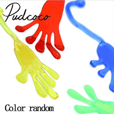 1PC Elastic Sticky Squishy Slap Hands Palm Toy Children Kids Party Favors Gift Sticky Palm Toy