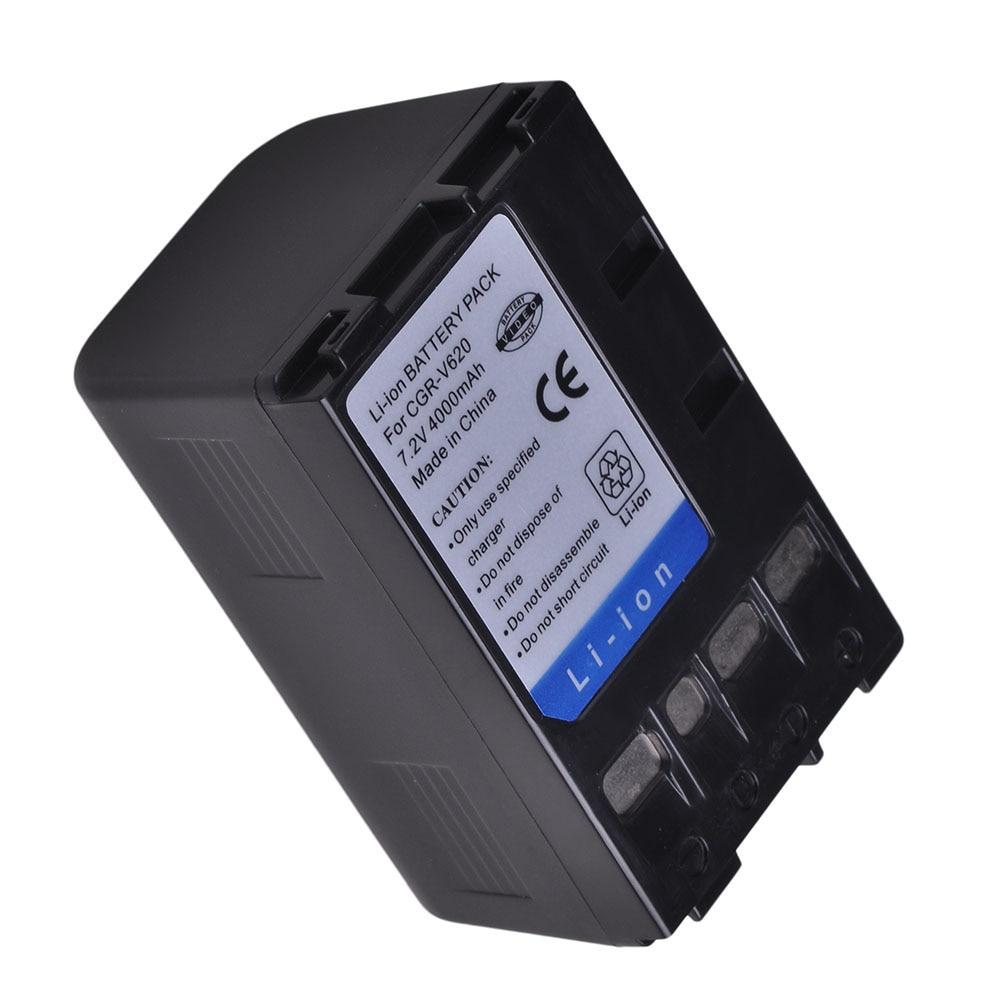 1Pc 4000mAh CGR-V14S, CGR-V610 CGR-V620 CGR-V26S V610 V620 Battery For Panasonic NV-RX14 NV-RX18 NV-RX24 NV-RX27 RX37 RX18B RZ10