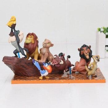 Фигурки Король Лев 6 шт 4-7 см 1