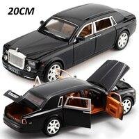 1/24 большой DieCasts роскошные модели автомобиля Collectiion L = 20 см дисплей W/6 открываемые двери хорошая картина отступить и вернуть мощность