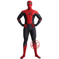 Superhero The Avengers Role Playing Far From Home Spiderman Costume Zentai Halloween Carnival Cosplay Marvel Suit With Mask